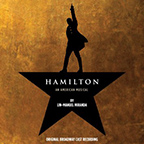 Cast album of Hamilton