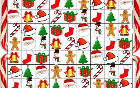 Answers to Christmas Sodoku
