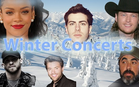 Winter concerts on the rise