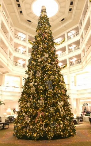 One of the many giant Christmas Trees