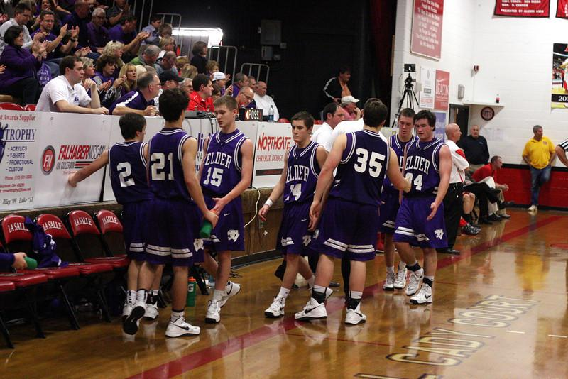 Elder's 2012-2013 Freshman Team against LaSalle.