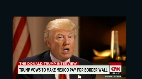 Donald Trump discusses his plans for the wall along the Mexican-American border.
