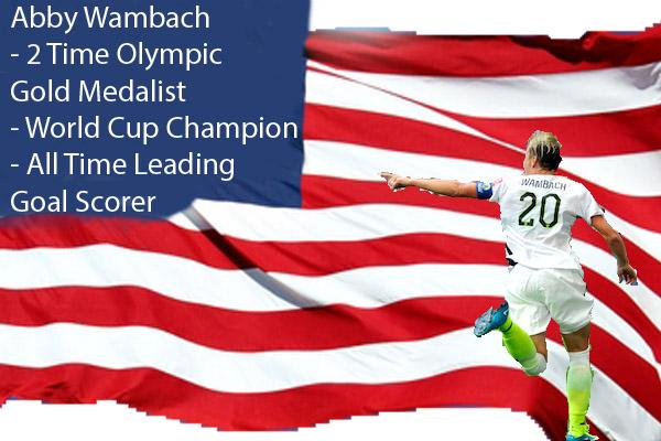 Legendary Wambach retires