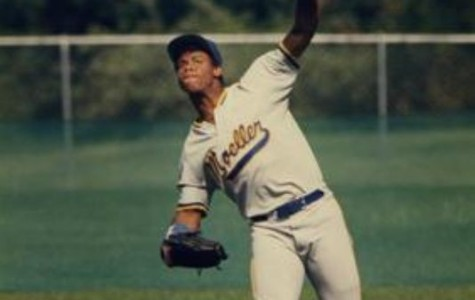 Griffey back when he played for Moeller high school