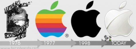 Apple redesigned their logo in order to avoid looking outdated.