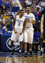Tyler Ulis (left) and Jamal Murray (right) are looking to take Kentucky to their third straight Final Four