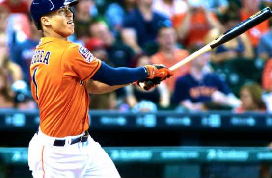 Astros SS Carlos Correa was the 2015 AL Rookie of the Year