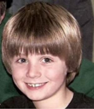 Christopher with his killer coconut haircut