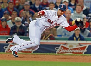 photo from bostonglobe.com Red Sox shortstop Xander Bogaerts will look to lead the Red Sox back into World Series contention