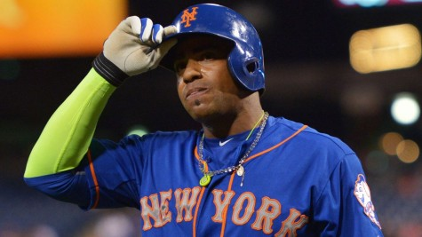 photo from foxsports.com Yoenis Cespedes had 17 homers and 44 RBIs in 57 games for the Mets last year