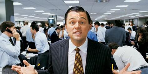 Leonardo DiCaprio starred as Jordan Belfort in The Wolf of Wall Street.