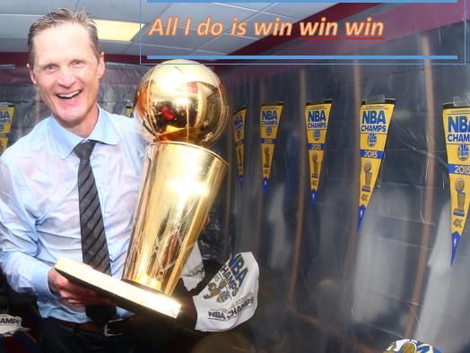 Kerr keeps winning