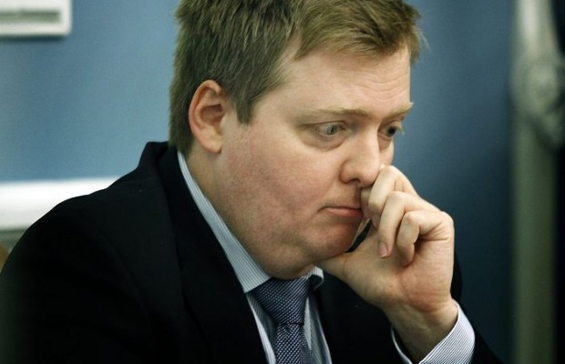 Iceland Prime Minister announces his resignation.