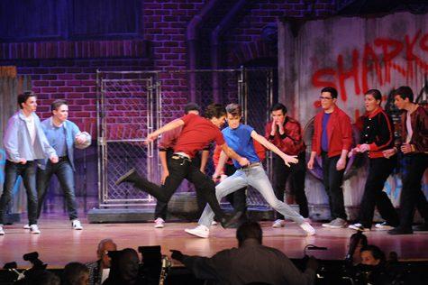 Elder and Seton perform West Side Story
