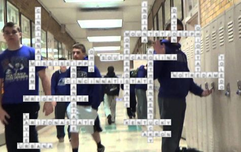 Solution to May crossword puzzle