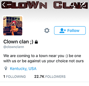 Photo by the @clownclann Twitter Account