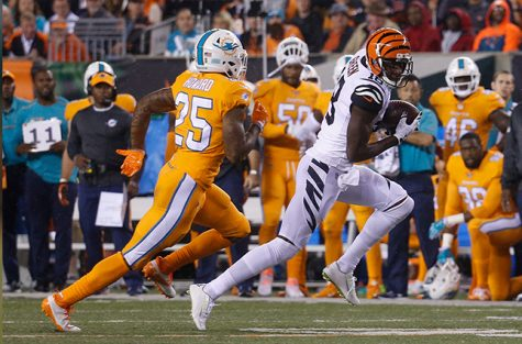 AJ Green took over in their Week 4 match-up against the Miami Dolphins.