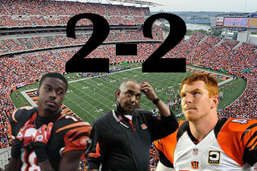The Bengals are looking to recover from a rough start to the season.