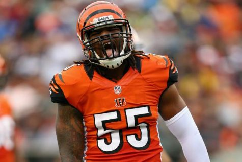 Vontaze Burfict brings a lot of energy to the Bengals who have missed him during his suspension