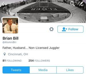 Follow Mr. Bill on Twitter, it's #awesome
