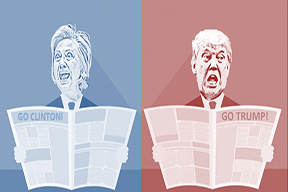 Newspapers have been supporting candidates for decades// Edited by Joe Reiter