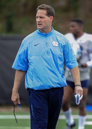 Gene Chizik as Defensive Coordinator at North Carolina