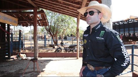 From Professional Bull Riders Guilherme Marchi at his ranch in Brazil