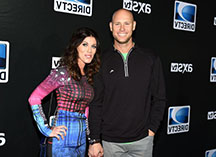 Josh brown with his now ex-wife Molly Brown (credit by New York Daily News)