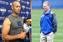 Giants owner, John Mara, and Kicker Josh Brown (Credit by New York Post)