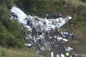 The site of the plane crash. (photo credit by Tucson.com)