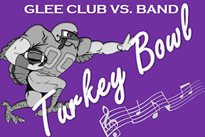 Glee Club and Band compete in the Turkey Bowl