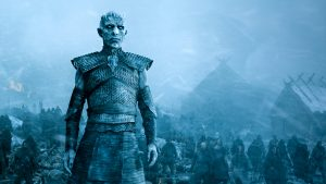 The Night King (the leader of the White Walkers) and his army