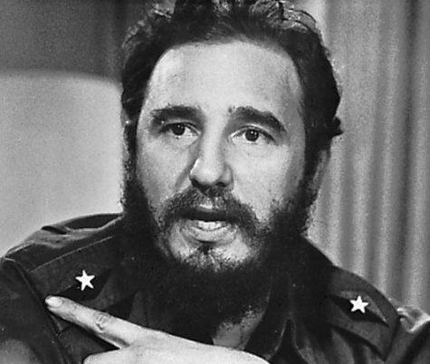 young Fidel Castro
