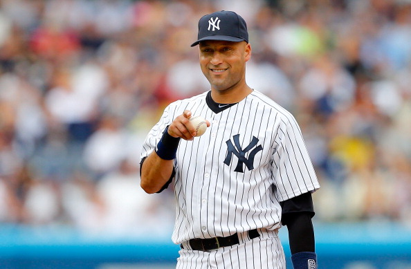 NEW YORK, NY - JULY 28:  Derek Jeter #2 of the New York Yankees in action against the Tampa Bay Rays at Yankee Stadium on July 28, 2013  in the Bronx borough of New York City. The Yankees defeated the Rays 6-5.  (Photo by Jim McIsaac/Getty Images)
