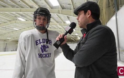 Ron Larkin skates his way into history