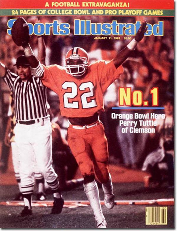 The last time Clemson won it all