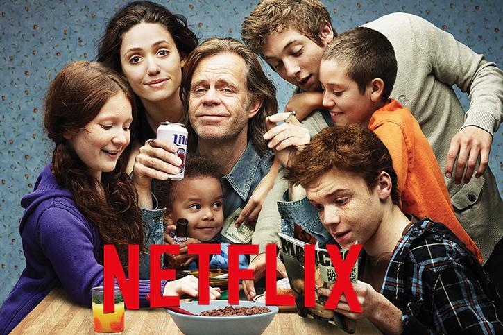 Shameless wins over the hearts of Netflix fans
