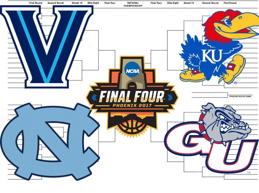 Villanova, Kansas, Gonzaga, and North Carolina are all deserving of a one seed.