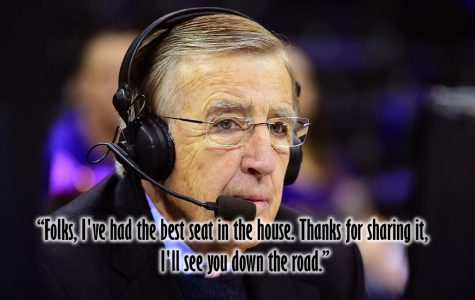 Musburger calls it quits