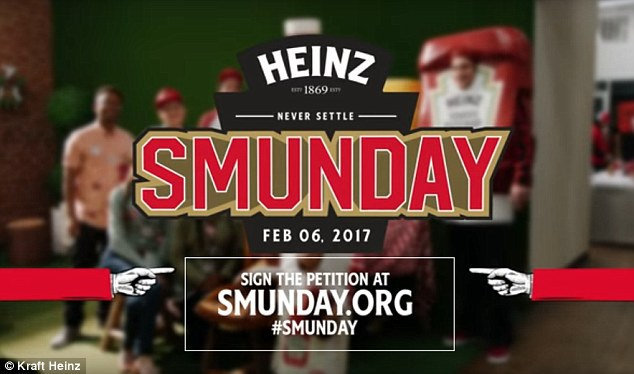 Heinz giver employees Super Bowl Monday off From Daily Mail