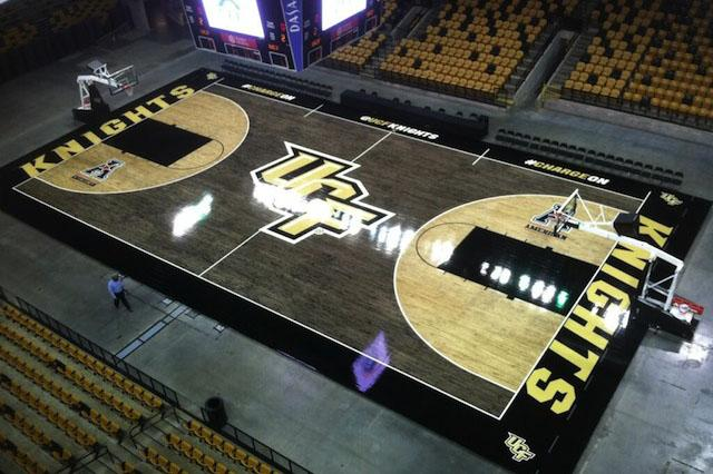 College Basketball The 10 Ugliest Courts The Purple Quill