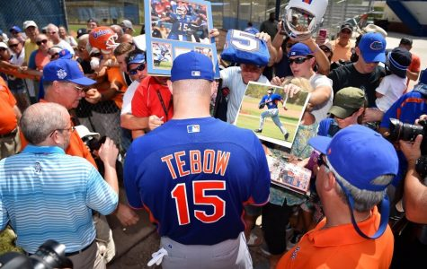 Reality or pipe dream: Tim Tebow tries baseball