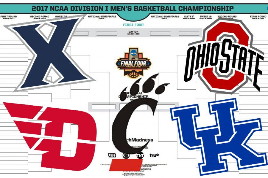 Xavier, Ohio State, Dayton, Cincinnati, and Kentucky are all looking to win their conference tournaments and get an automatic bid to the NCAA Tournament.