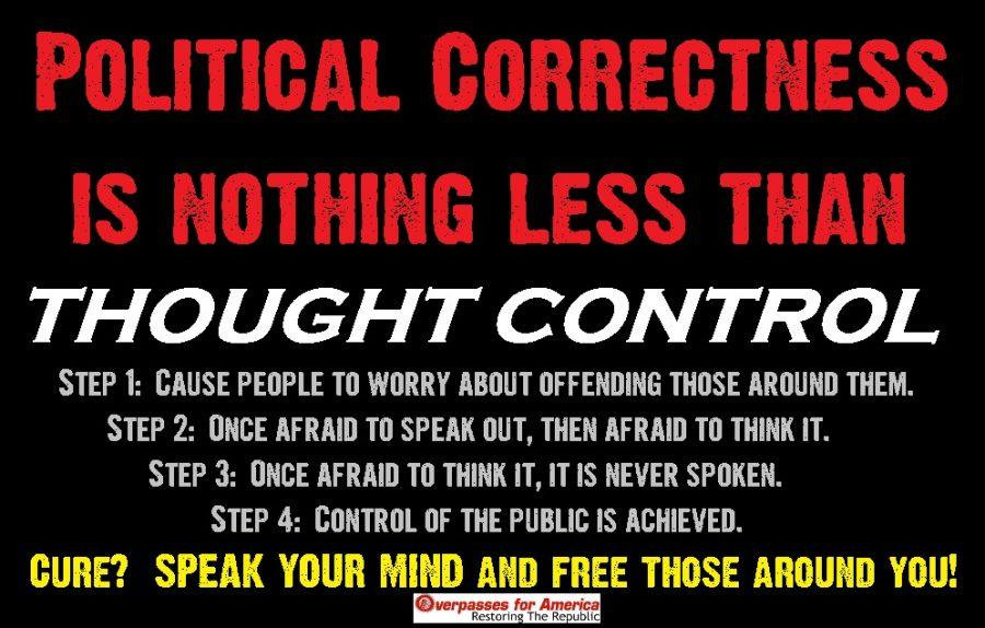 Political correctness is just not pertinent
