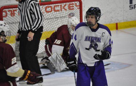 Ron Larkin  shreds the ice