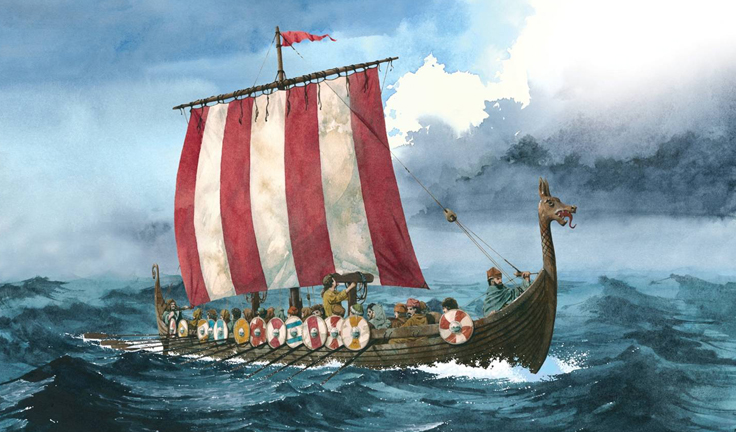 The Low Sailing Viking Ships Were Fast Moving And Stealthy They Best Navigators Of Their Age