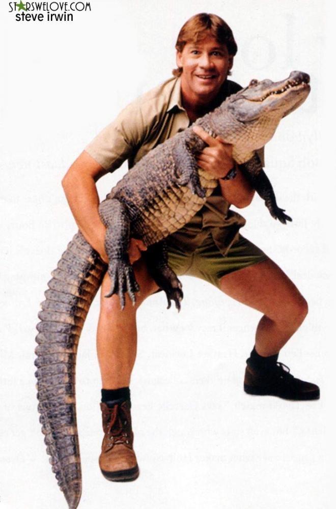 The Crocodile Hunter lives on
