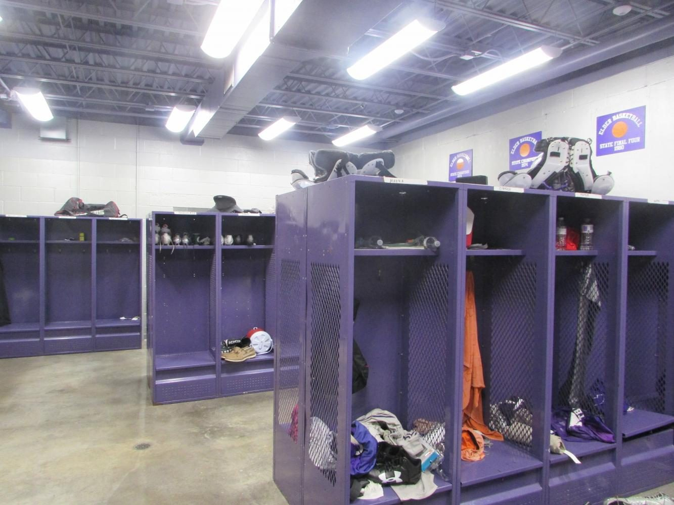 Could the varsity locker room be the next trainers room?