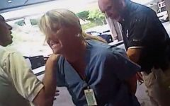 Nurse arrested for following procedure