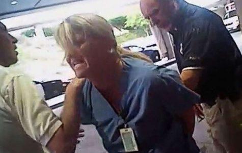 Nurse arrested for following procedure